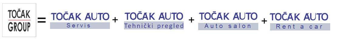 Tocak Auto - poslovne jedinice