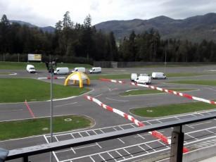 AMZS – Centar sigurne voznje Vransko – Obuka za Renault Trafic i Renault Master