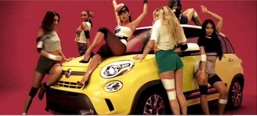 FIAT 500L u spotu INNA – Good Time ft. Pitbull