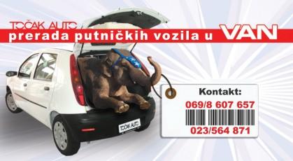 Prerada putničkih vozila u VAN