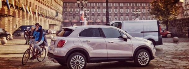 Fiat 500X u Torinu –  snimanje TV spota