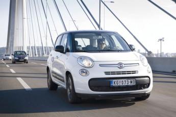 FIAT 500L CNG – Sto kilometara s pogonom na metan za 379,00 din