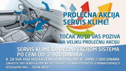 SERVIS KLIME ZA SAMO 2.900,00 DINARA